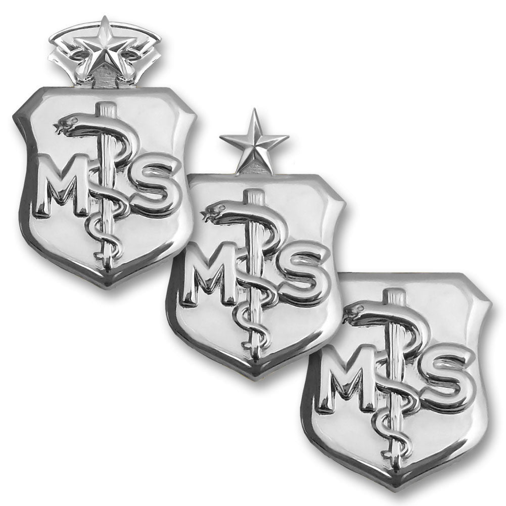 Air Force Medical Service Corps Badges