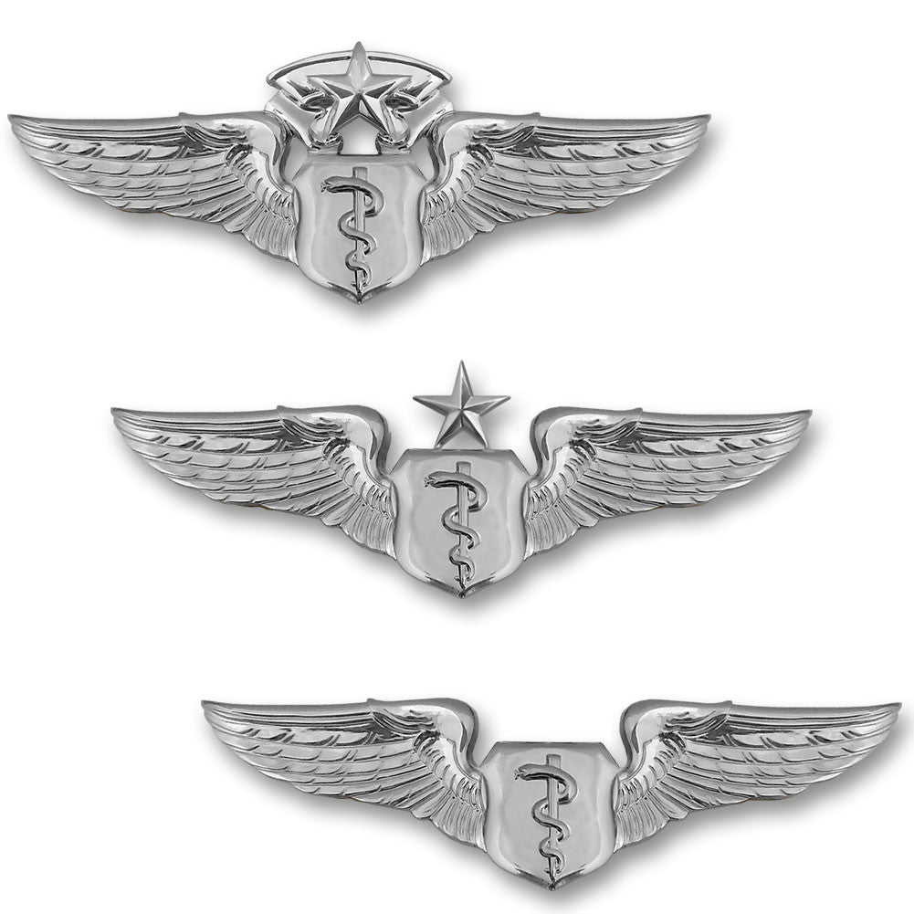 Air Force Miniature Flight Surgeon Badges