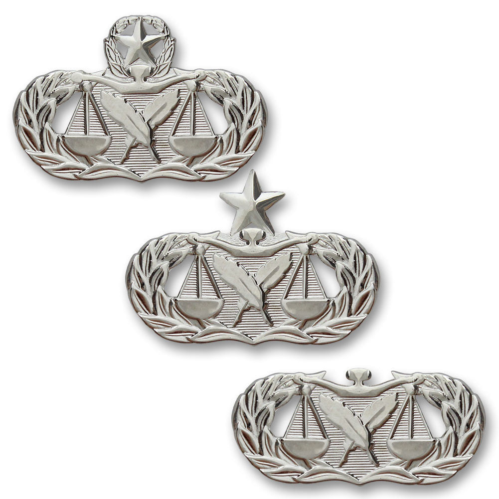 Air Force Paralegal Badges