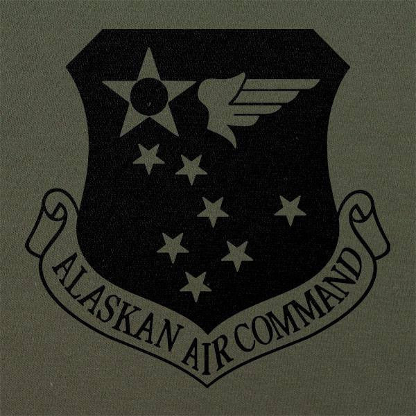 Alaskan Air Command Subdued Patch T-Shirt