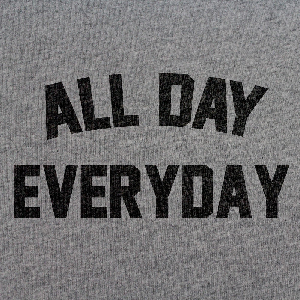 All Day Everyday T-Shirt - Sm - Heather Grey