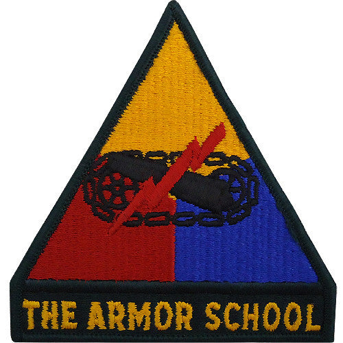 Armor School Class A Patch