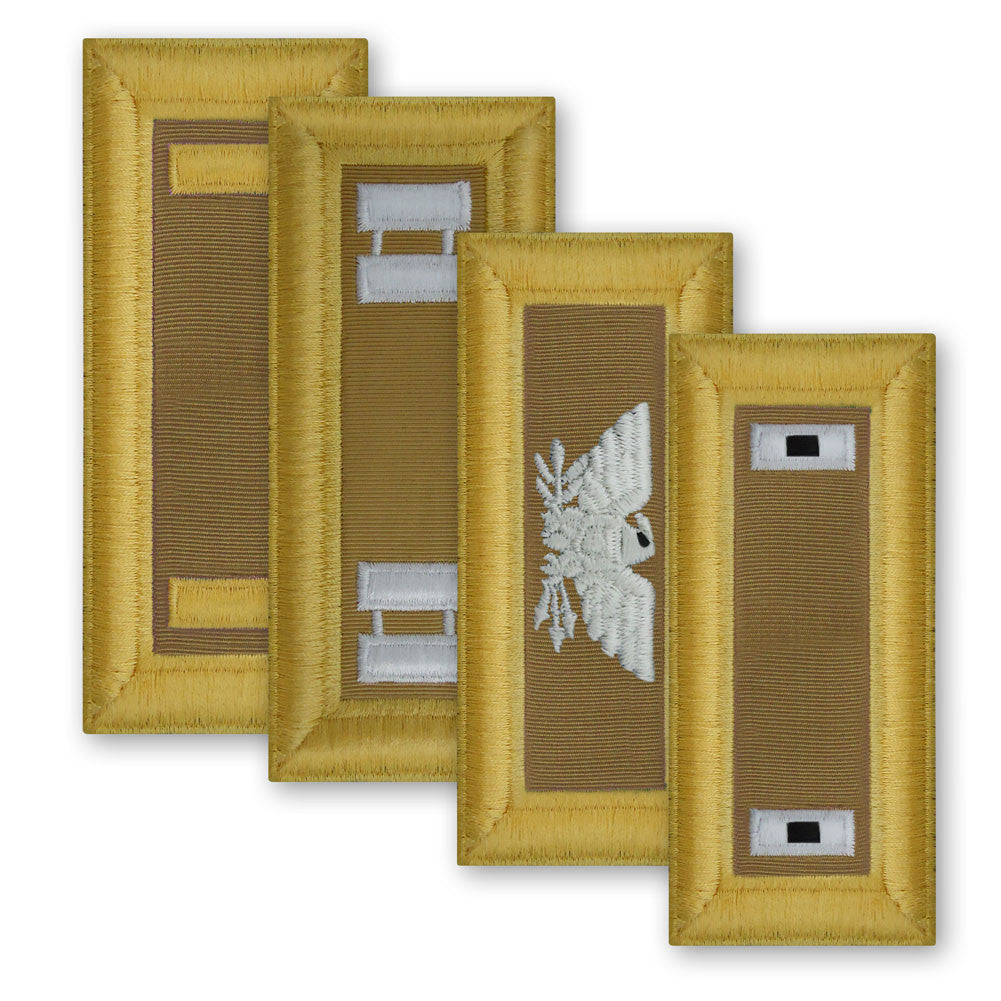 Army Female Shoulder Boards - Quartermaster