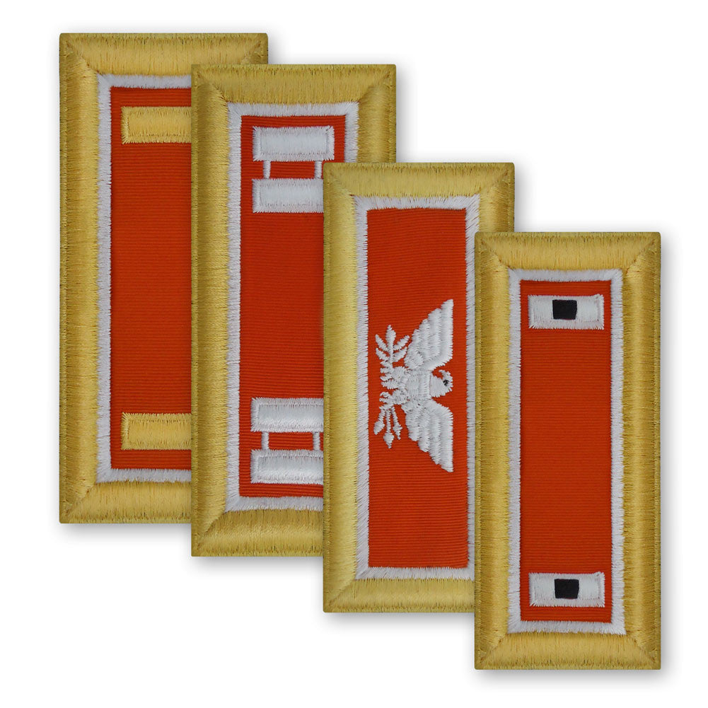 Army Male Shoulder Boards - Signal