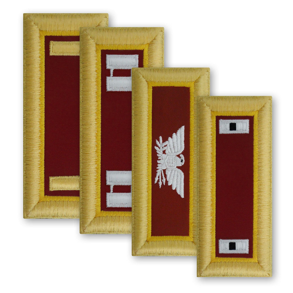 Army Female Shoulder Boards - Transportation