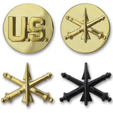 Army Air Defense Artillery Branch Insignia - Officer and Enlisted