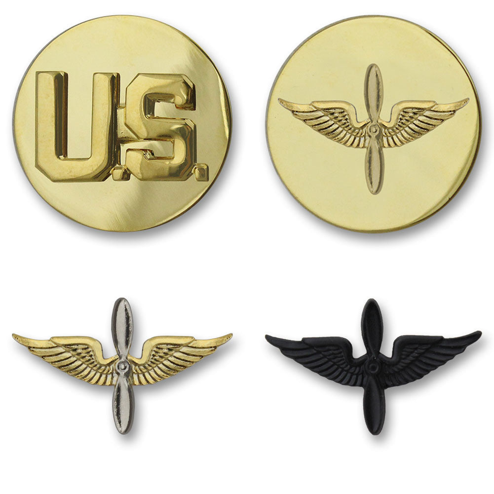 Army Aviation Branch Insignia - Officer and Enlisted