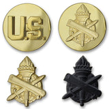 Army Civil Affairs Branch Insignia - Officer and Enlisted
