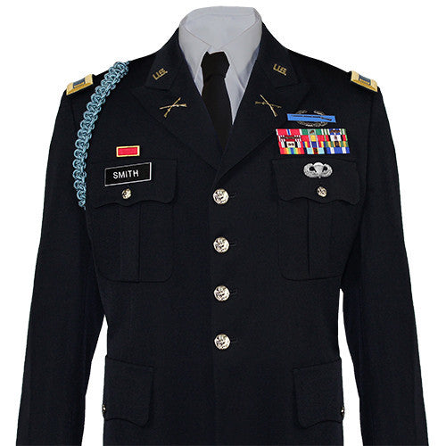Army Service Uniform (ASU) Male Dress Officer Coat - Size 40R