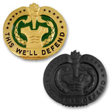 Army Drill Sergeant Identification Badges