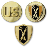 Army Electronic Warfare Branch Insignia - Officer and Enlisted