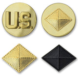 Army Finance Branch Insignia - Officer and Enlisted