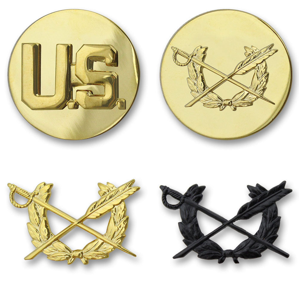 Army Judge Advocate Branch Insignia - Officer and Enlisted