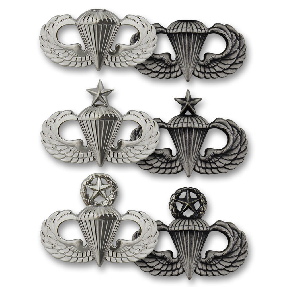 Army Miniature Parachutist Badges