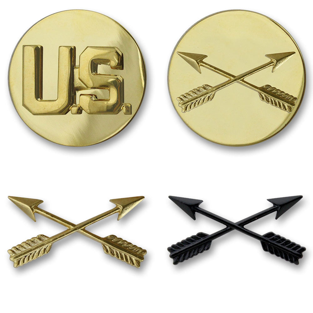 Army Special Forces Branch Insignia - Officer and Enlisted