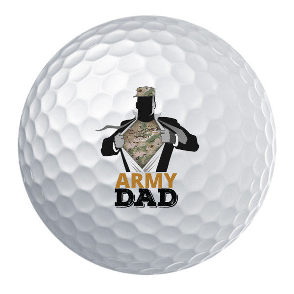 Army Dad Golf Ball Set
