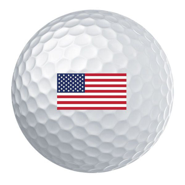 American Flag Golf Ball Set