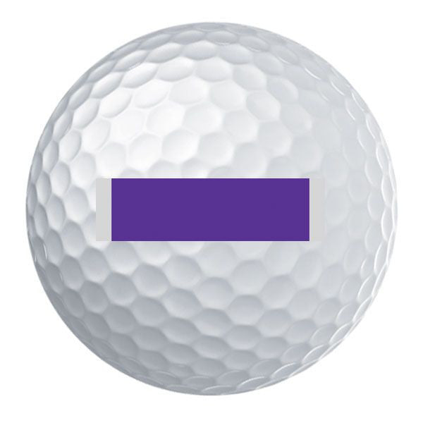 Purple Heart Ribbon Golf Ball Set
