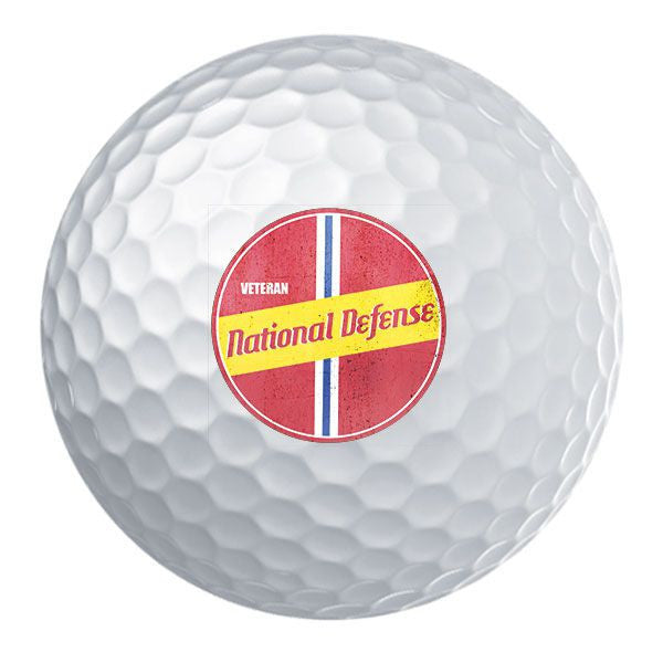 Retro National Defense Service Golf Ball Set