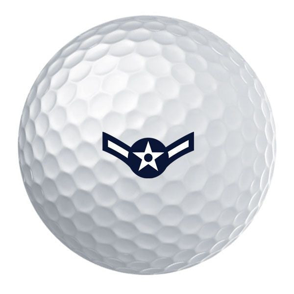 Air Force Rank Golf Ball Set