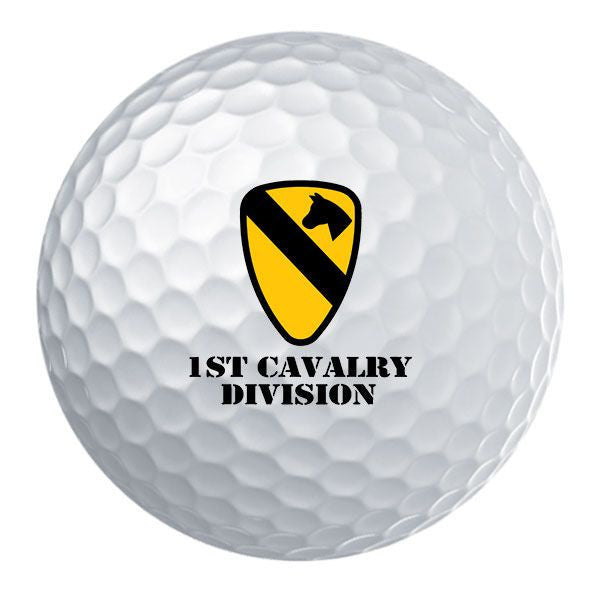 1st Cavalry Division Badge Golf Ball Set
