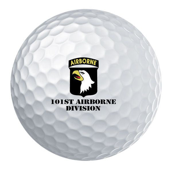 101st Airborne Division Badge Golf Ball Set
