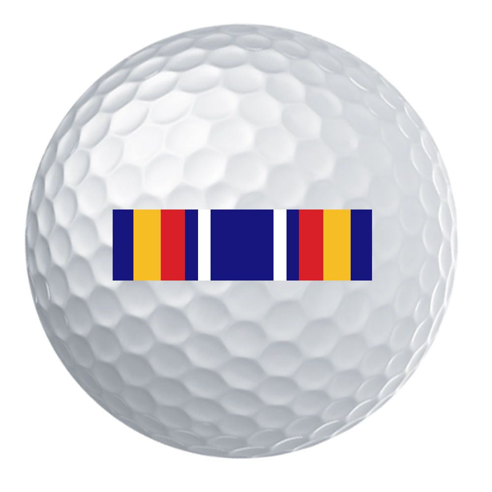 Global War on Terrorism Service Ribbon Golf Ball Set