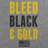 Army Bleed Black and Gold T-Shirt