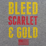 Marines Bleed Scarlet and Gold T-Shirt