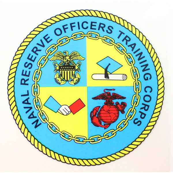 Naval Reserve Officers Training Corps Clear Decal