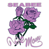 Seabee Mom Clear Decal