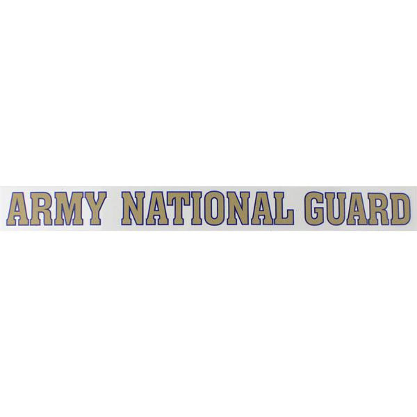 Army National Guard Clear Window Strip