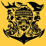 Honorable Shellback Vinyl Decal