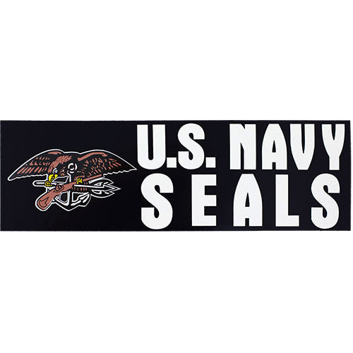U.S. Navy Seals Bumper Sticker