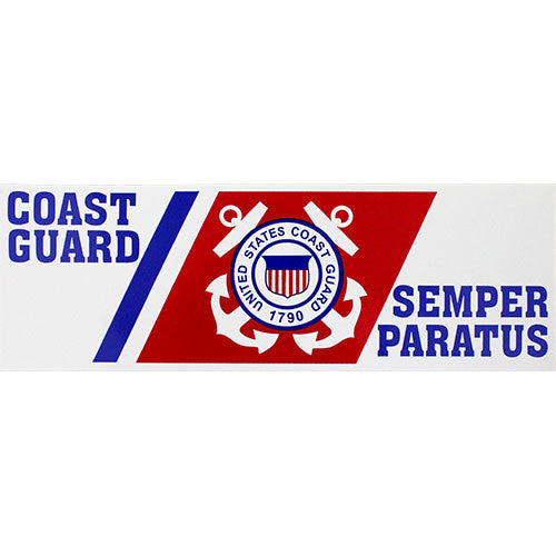 Coast Guard Semper Paratus Bumper Sticker