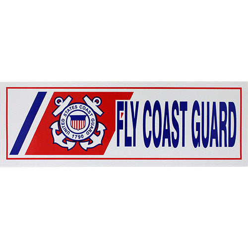 Fly Coast Guard Bumper Sticker