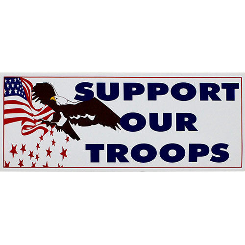 Support Our Troops Small Bumper Sticker