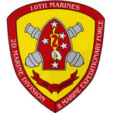 Expeditionary Force Marine Clear Decal