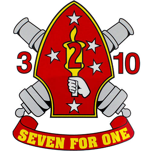 Seven For One Clear Decal