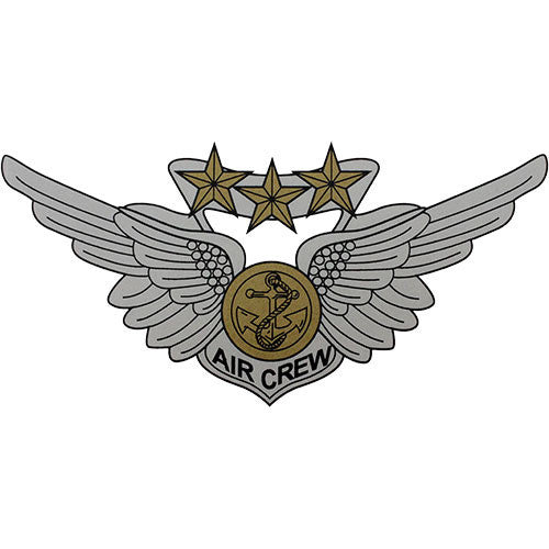Combat Aircrew Wing Decal