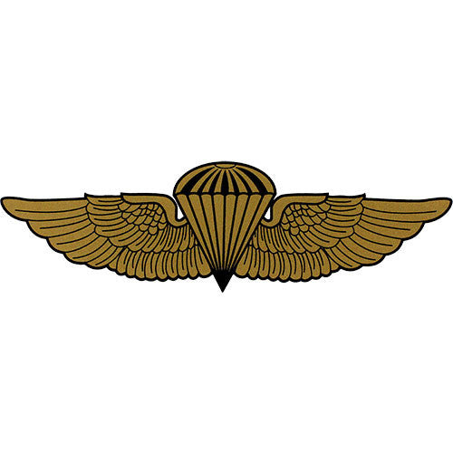 Marine / Navy Jump Wings Decal