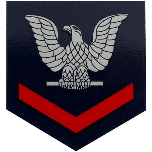 E-4 3rd Class Petty Officer (Red) Large Decal