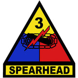 3rd Armored Division (Spearhead) Decal