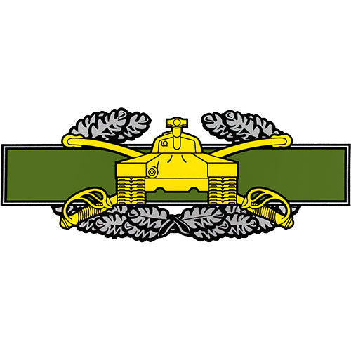 Combat Armor Badge Clear Decal