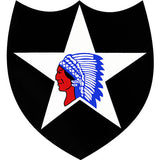 2nd Infantry Division Clear Decal