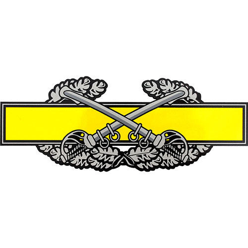 Combat Cavalry Badge Decal