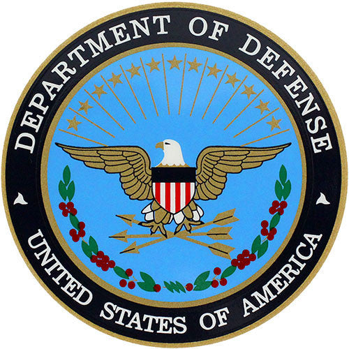 U.S. Department Of Defense Clear Decal