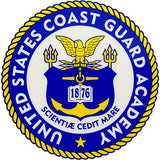 U.S. Coast Guard Academy Clear Decal