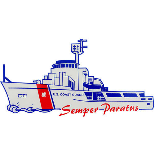 U.S. Coast Guard Cutter Clear Decal