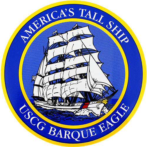 America's Tall Ship USCG Baroque Eagle Decal